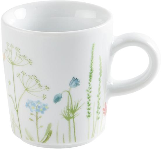kahla magic grip five senses wildblume espresso obertasse 0 09 l blau rot fachh ndler. Black Bedroom Furniture Sets. Home Design Ideas
