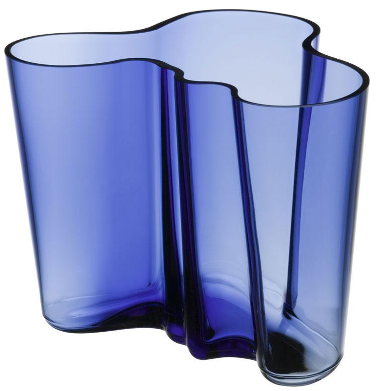 iittala aalto vase 160 mm ultramarin 1021061. Black Bedroom Furniture Sets. Home Design Ideas